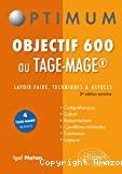 Objectif 600 au TAGE-MAGE
