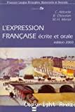 L'expression française écrite et orale
