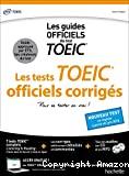 Les tests TOEIC officiels corrigés