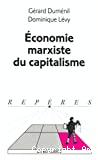 ECONOMIE MARXISTE ET CAPITALISME