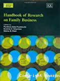 Handbook on research on family business