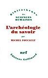 ARCHEOLOGIE DU SAVOIR (L')