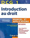 Introduction au droit, DCG 1