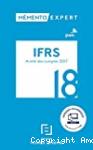 IFRS Arrêté des comptes 2017