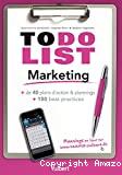 To do List Marketing