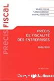 Précis de fiscalité des entreprises, 2020/2021