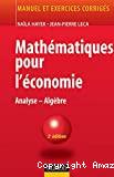 MATHEMATIQUES POUR L'ECONOMIEAnalyse - Algèbre
