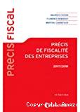 Précis de fiscalité des entreprises, 2017-2018