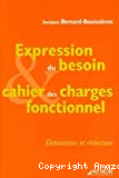 Expression du besoin & cahier des charges fonctionnel