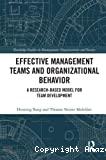 Effective management teams and organizational behavior