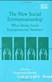 The new social entrepreneurship
