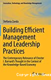 Building Efficient Management and Leadership Practices