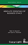 Absolute essentials of business ethics