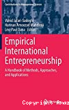 Empirical International Entrepreneurship