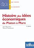 HISTOIRE DES IDEES ECONOMIQUES DE PLATON AMARX