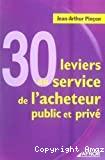 30 leviers au service de l'acheteur public et privé