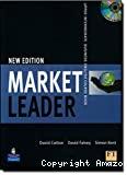 MARKET LEADER UPPER INTERMEDIATE Business english course book + CD ROM